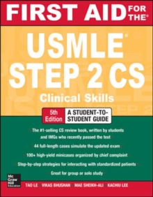 First Aid for the USMLE Step 2 CS, Fifth Edition, Paperback Book