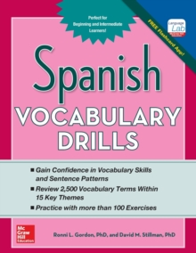 Spanish Vocabulary Drills, Paperback / softback Book