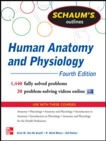 Schaum's Outline of Human Anatomy and Physiology, Paperback / softback Book