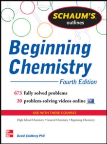 Schaum's Outline of Beginning Chemistry, Paperback Book