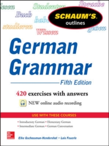 Schaum's Outline of German Grammar, Paperback Book