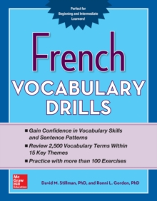 French Vocabulary Drills, EPUB eBook