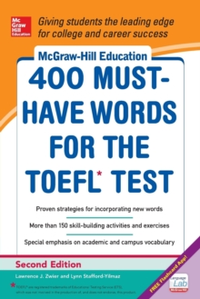 McGraw-Hill Education 400 Must-Have Words for the TOEFL, Paperback Book
