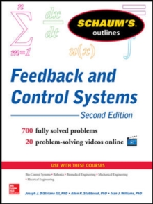 Schaum's Outline of Feedback and Control Systems, Paperback Book