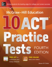 McGraw-Hill Education 10 ACT Practice Tests, 4th Edition, EPUB eBook
