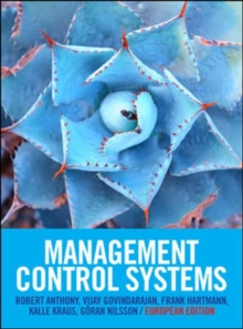 Management Control Systems: European Edition : European Edition, Paperback Book