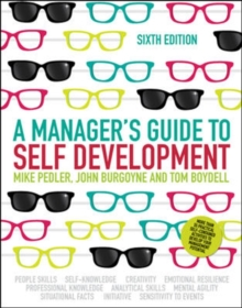 A Manager's Guide to Self-Development, Paperback Book