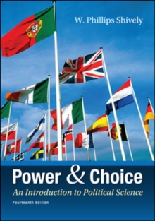 Power & Choice: An Introduction to Political Science, Paperback Book