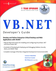 VB.Net Web Developer's Guide, PDF eBook
