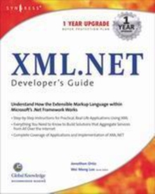 XML Net Developers Guide, PDF eBook