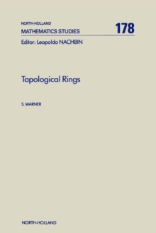 Topological Rings, PDF eBook