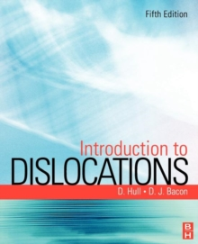 Introduction to Dislocations, Paperback / softback Book