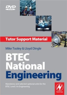 BTEC National Engineering Tutor Support Material : Mandatory and Selected Optional Units for the BTEC National in Engineering, DVD-ROM Book