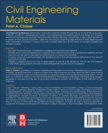 Civil Engineering Materials, Paperback Book