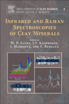 Infrared and Raman Spectroscopies of Clay Minerals : Volume 8, Hardback Book