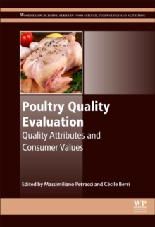 Poultry Quality Evaluation : Quality Attributes and Consumer Values, Hardback Book