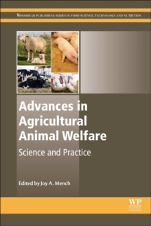 Advances in Agricultural Animal Welfare : Science and Practice, Hardback Book