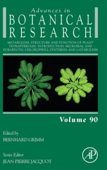 Metabolism, Structure and Function of Plant Tetrapyrroles: Introduction, Microbial and Eukaryotic Chlorophyll Synthesis and Catabolism : Volume 90, Hardback Book