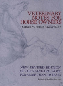 Veterinary Notes For Horse Owners, Paperback / softback Book