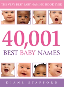 40, 001 Best Baby Names, Paperback Book