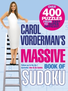 Carol Vorderman's Massive Book of Sudoku, Paperback / softback Book