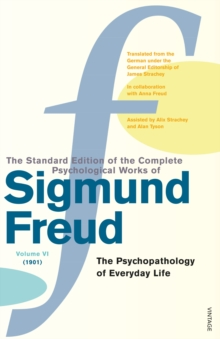 Complete Psychological Works Of Sigmund Freud, The Vol 6, Paperback Book