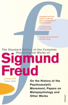 Complete Psychological Works of Sigmund Freud, The Vol 14, Paperback Book