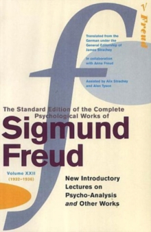 Complete Psychological Works Of Sigmund Freud, The Vol 22, Paperback / softback Book