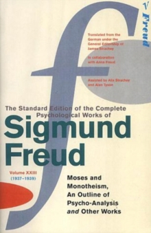 Complete Psychological Works Of Sigmund Freud, The Vol 23, Paperback / softback Book