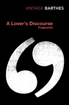 A Lover's Discourse, Paperback Book