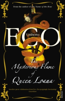 The Mysterious Flame Of Queen Loana, Paperback Book