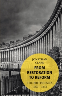 From Restoration to Reform, Paperback Book