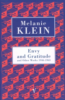 Envy And Gratitude And Other Works 1946-1963, Paperback / softback Book