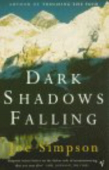 Dark Shadows Falling, Paperback Book