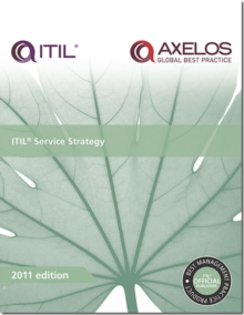 ITIL service strategy, Paperback Book