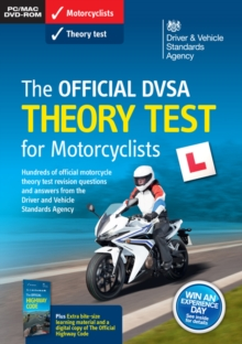 The official DVSA theory test for motorcyclists, Paperback / softback Book