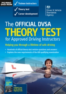 The official DVSA theory test for approved driving instructors [DVD], DVD-ROM Book