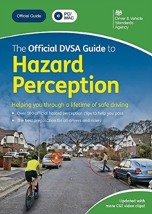 The official DVSA guide to hazard perception DVD-ROM, DVD-ROM Book
