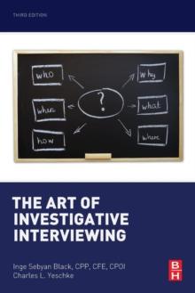 The Art of Investigative Interviewing, Paperback / softback Book