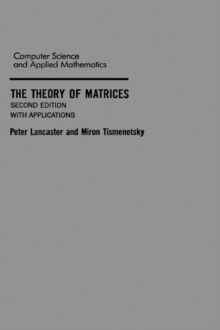 The Theory of Matrices : With Applications, Hardback Book