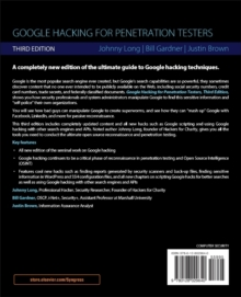 Google Hacking for Penetration Testers, Paperback / softback Book