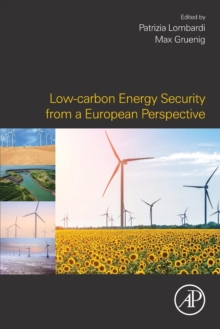 Low-carbon Energy Security from a European Perspective, Paperback Book