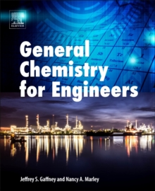 General Chemistry for Engineers, Paperback Book