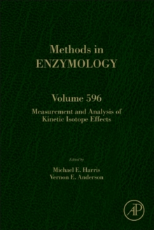 Measurement and Analysis of Kinetic Isotope Effects : Volume 596, Hardback Book