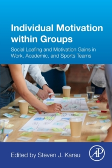 Individual Motivation within Groups : Social Loafing and Motivation Gains in Work, Academic, and Sports Teams, Paperback Book