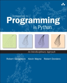 Introduction to Programming in Python : An Interdisciplinary Approach, Hardback Book
