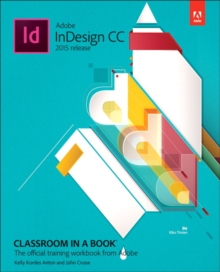 Adobe InDesign CC Classroom in a Book (2015 release), Mixed media product Book