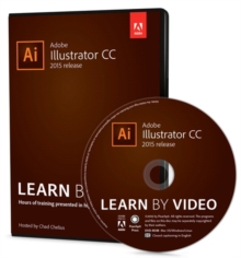 Adobe Illustrator CC Learn by Video (2015 release), DVD-ROM Book
