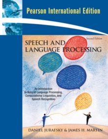 Speech and Language Processing : International Edition, Paperback Book
