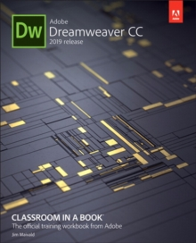 Adobe Dreamweaver CC Classroom in a Book, Paperback / softback Book